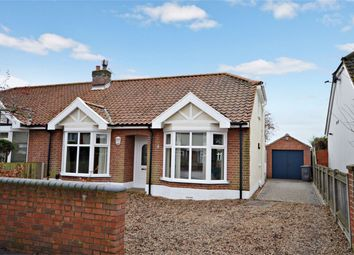 Thumbnail 3 bed semi-detached bungalow for sale in Wall Road, Norwich