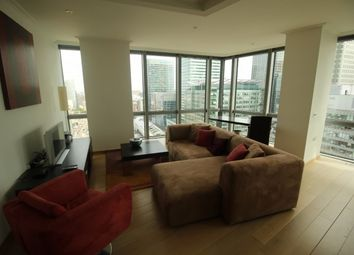Thumbnail 1 bed flat to rent in West India Quays Hertsmere Road, London