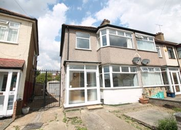 Thumbnail 3 bed end terrace house to rent in Somerville Road, Chadwell Heath, Essex