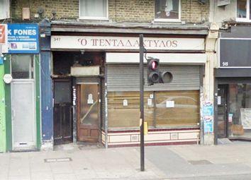 Retail premises to let in Green Lanes, London N8