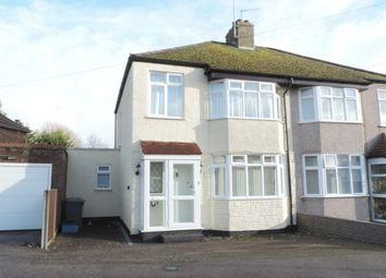 Thumbnail 3 bedroom semi-detached house for sale in Clive Close, Potters Bar