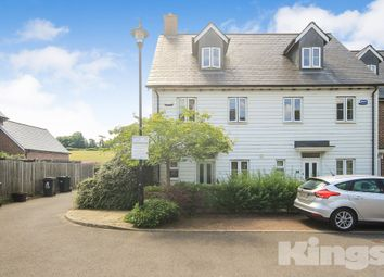 Thumbnail 3 bed end terrace house to rent in Broomfields, Bells Yew Green, Tunbridge Wells