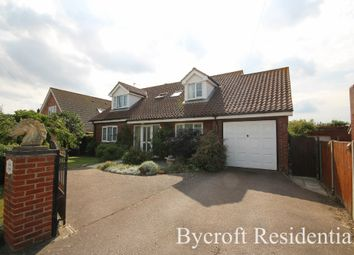 Thumbnail 5 bed detached bungalow for sale in Penguin Road, Scratby, Great Yarmouth