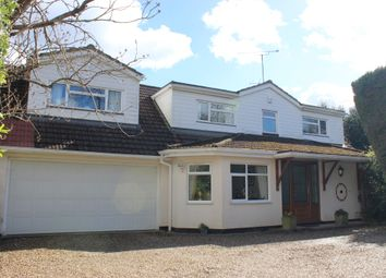 Thumbnail 4 bedroom detached house for sale in Curley Hill Road, Lightwater, Surrey
