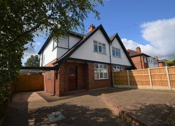 Thumbnail 3 bed semi-detached house for sale in Grove Avenue, Vicars Cross, Chester
