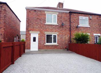 Thumbnail 3 bed semi-detached house for sale in Church Avenue, West Sleekburn, Choppington