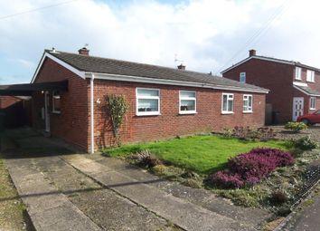 Thumbnail 2 bedroom semi-detached bungalow to rent in Maple Close, Wymondham, Norfolk