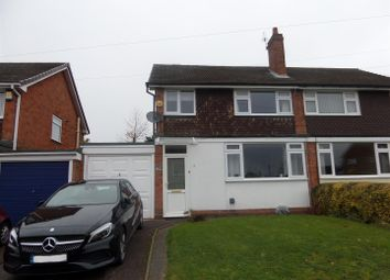 Thumbnail 3 bed semi-detached house to rent in Newton Road, Lichfield