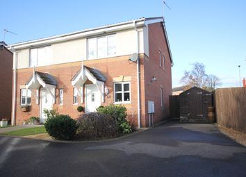 Thumbnail 2 bed semi-detached house for sale in Swan Gardens, Peterborough
