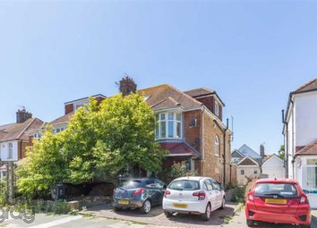 Thumbnail 3 bed flat for sale in Braemore Road, Hove