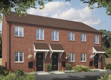 Thumbnail 2 bed terraced house for sale in Meadow Way, Tamworth