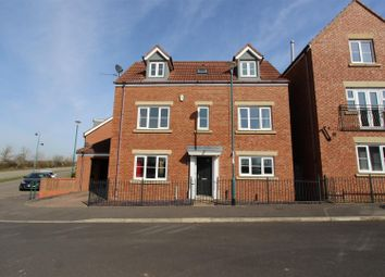 Thumbnail 4 bed detached house for sale in Skerningham Avenue, Darlington