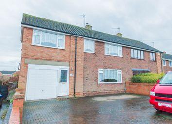Thumbnail 5 bed semi-detached house for sale in Drayton Road, Irthlingborough, Wellingborough