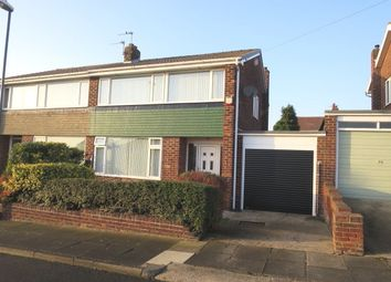 Thumbnail 3 bed semi-detached house for sale in Marian Way, South Shields