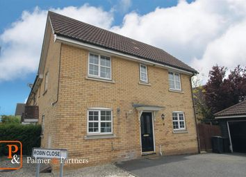 Thumbnail 3 bed semi-detached house for sale in Kestrel Drive, Stowmarket
