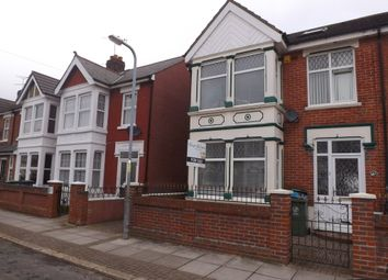 Thumbnail 4 bed semi-detached house for sale in Meredith Road, Portsmouth