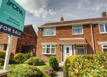 Thumbnail 2 bedroom end terrace house for sale in Titian Avenue, South Shields