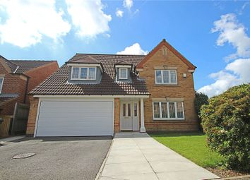 Thumbnail 4 bed detached house for sale in Moulton Chase, Hemsworth, Pontefract, West Yorkshire