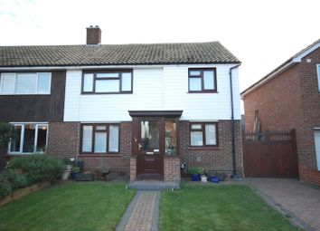 Thumbnail 2 bed semi-detached house for sale in Hyder Road, Chadwell St Mary
