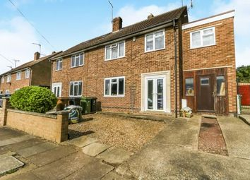 Thumbnail 4 bed semi-detached house for sale in Western Way, Wellingborough, Northamptonshire, England