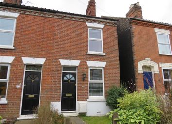 Thumbnail 2 bedroom end terrace house to rent in Melrose Road, Norwich