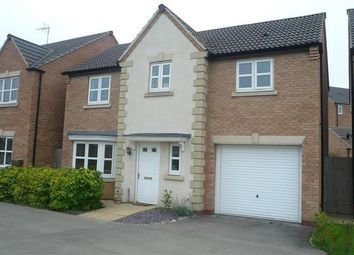 Thumbnail 4 bed detached house to rent in Bunting Road, Corby