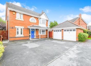 Thumbnail 5 bed detached house for sale in Pendle Gardens, Culcheth, Warrington, Cheshire