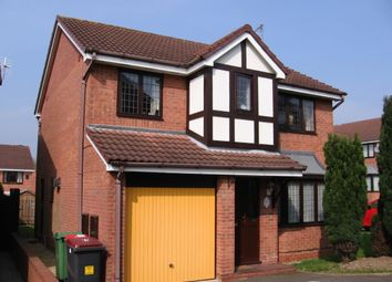 Thumbnail 4 bed detached house to rent in Swansmeade Way, Stirchley Village Telford