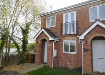 Thumbnail 2 bedroom town house for sale in Teal Drive, Hinckley