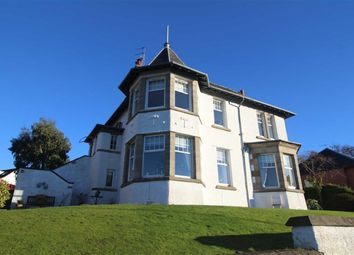 Thumbnail 2 bed flat for sale in Tower Drive, Gourock