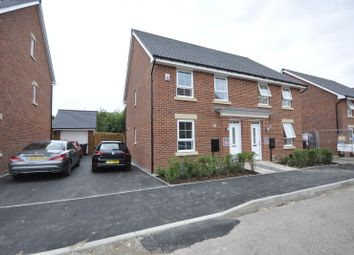 Thumbnail 3 bed semi-detached house to rent in Elvaston Drive, Littleover, Derby