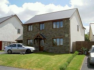 Thumbnail 4 bed detached house to rent in Felindre, Brecon