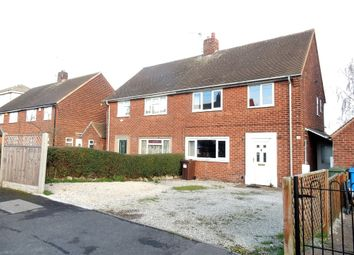 Thumbnail 3 bed semi-detached house for sale in Browning Close, Worksop
