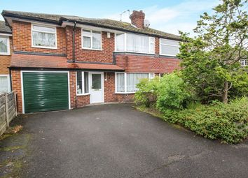 Thumbnail 4 bed semi-detached house for sale in Woodville Drive, Marple, Stockport