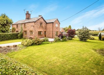 Thumbnail 4 bed semi-detached house for sale in Wrexham Road, Pulford, Chester