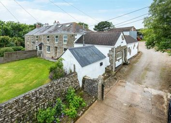 Thumbnail 4 bed equestrian property for sale in Land And Livery, Near Helston, Cornwall