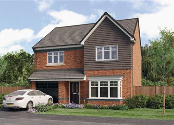 "Thumbnail 4 bed detached house for sale in ""Chadwick"" at Croston Road, Farington Moss, Leyland"