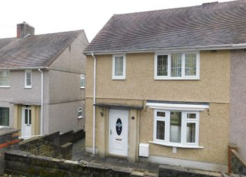 Thumbnail 2 bed semi-detached house for sale in New Road, Trebanos, Pontardawe, Swansea, City And County Of Swansea.