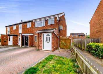 Thumbnail 3 bedroom end terrace house for sale in Hillgrounds Road, Kempston, Bedford, Bedfordshire
