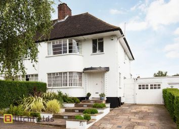 4 bed semi-detached house for sale in Howard Walk, Hampstead Garden Suburb, London N2