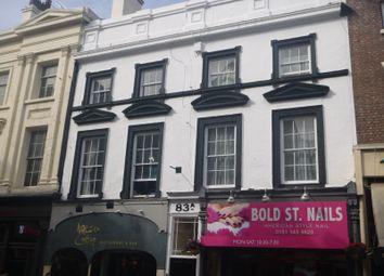 Thumbnail 1 bedroom maisonette for sale in Bold Street, Liverpool