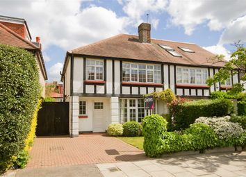 Thumbnail 4 bed semi-detached house for sale in Queen Annes Grove, London
