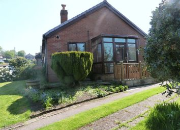 Thumbnail 1 bed detached bungalow to rent in Lingfield Avenue, Brown Edge, Stoke-On-Trent