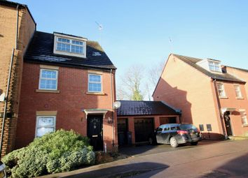 Thumbnail 3 bed end terrace house to rent in Outfield Close, Great Oakley, Corby