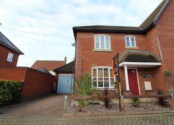 Thumbnail 3 bed semi-detached house for sale in Loganberry Road, Ipswich