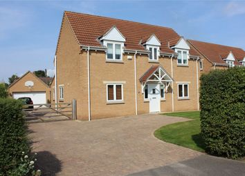 Thumbnail 4 bed detached house for sale in The Pingle, Northborough, Market Deeping, Cambridgeshire