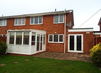 Thumbnail 3 bed property to rent in Eden Close, Cannock