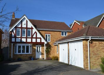 Thumbnail 4 bed detached house for sale in Marguerite Way, Bishop's Stortford
