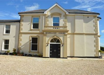 Thumbnail 2 bed flat for sale in Marsland Court, Dawlish Road, Teignmouth, Devon.