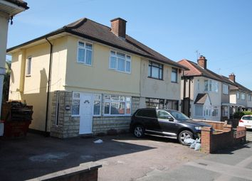 Thumbnail 3 bedroom semi-detached house to rent in Collier Row Road, Romford